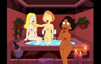 Lois Griffin & Francine Smith in sexcomics Francine Smith Griffins Porn Lois Griffin Smiths Porn