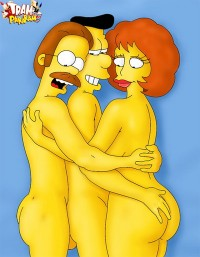The Simpsons in sex orgy! - Family Orgy Simpsons Sex