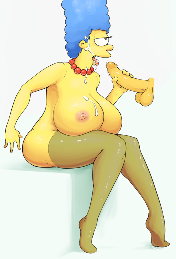 Marge simpson nude pics