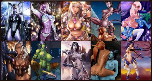 Porn from world of warcraft characters - Anime Hentai Manga World of Warcraft