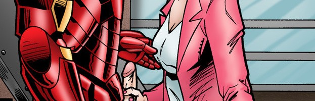 Pepper Potts sex comics