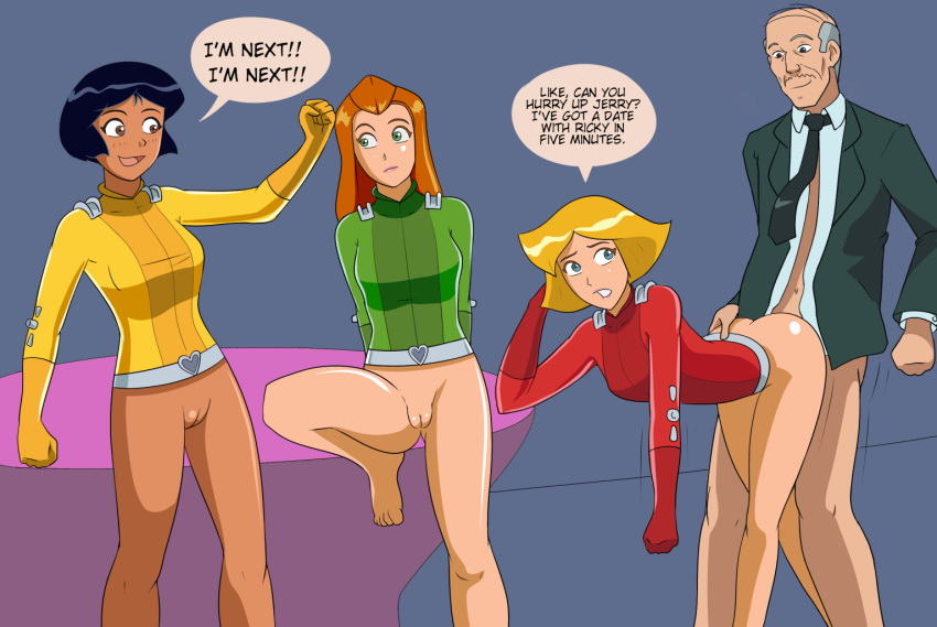 totally spies hentai video   cartoon network porn totally spies sex