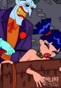 Gotham's sluts for hardcore! - Batgirl Batman Sex Super Heroes Sex