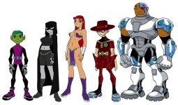 Teen Titans porn version