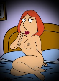 Peggy, Lois and Francine topless - All Cartoons